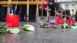 У Празі розставили хрести та відкрили Меморіал «Небесної Сотні»
