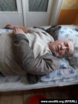 59-летний инвалид второй группы Олим Мустафаев говорил, что попал в больницу после избиения со стороны сотрудников ГАИ.
