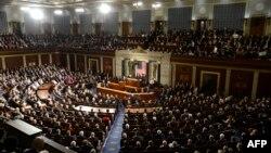 Зал заседаний Палаты представителей Конгресса США.