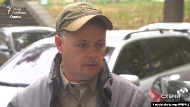 Заступник керівника «Муніципальної варти» Євген Мірошниченко