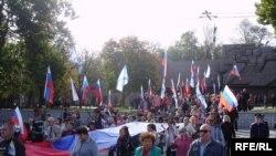 Російський марш у Севастополі