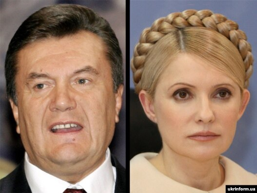 Diplomatic cables leaked from the U.S. Embassy in Ukraine show the embassy believed prior to the 2010 presidential election that Viktor Yanukovych (left) had changed and that he was a better option than Yulia Tymoshenko.