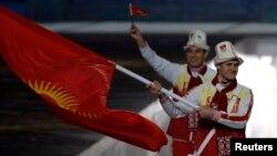 Кыргызстандык спортчулар Сочи олимпиадасында. 2014-жыл.