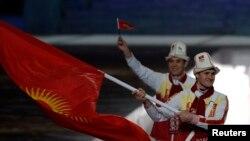 Кыргызстандык лыжачы Дмитрий Трелевский.