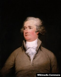 Александер Гамильтон. Портрет работы Джона Трамбалла. 1792