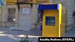"Bağlanmış ""Zaminbank"". 20sen2016"