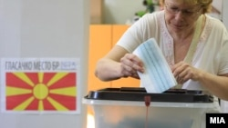 Гласање на предвремените парламентарни избори