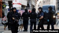 Londradaki politsiya hadimleri