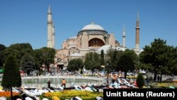 Turkey says that Ozden and his people planned a massive terrorist act at Istanbul's historic Hagia Sofia -- the former Orthodox Christian cathedral and museum that Turkey recently reconverted into a mosque.