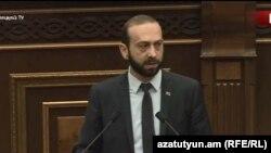 Спикер парламента Армении Арарат Мирзоян (архив)