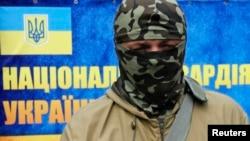 Командир добровольчого батальйону територіальної оборони «Донбас» Семен Семенченко