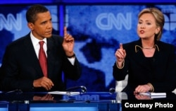 2008 год. Дебаты Обама – Клинтон