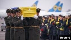 11 ukraynalının cənazəsi Kiyevə yanvarın 19-da gətirilib