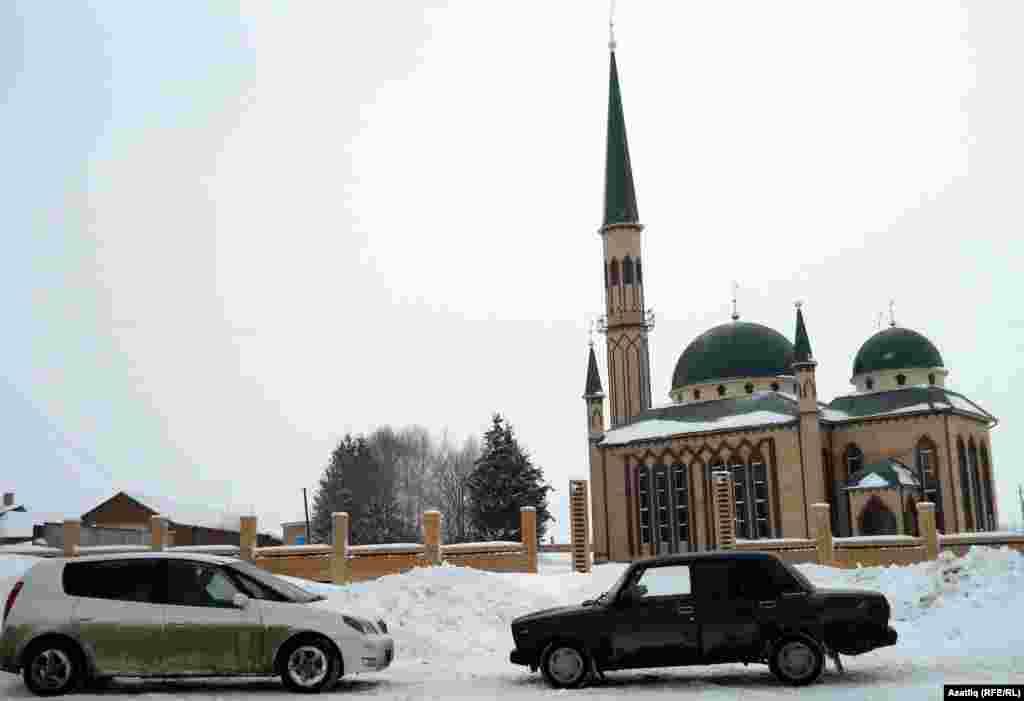 Мордовия. Мечеть в деревне Аксеново.