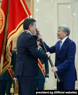 Алмазбек Атамбаев менен Сооронбай Жээнбеков. 24-ноябрь, 2017-жыл