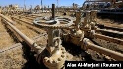 Një zonë e naftës në Kirkuk, Irak