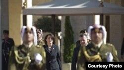Presidentja Jahjaga në Jordani