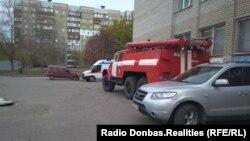 У участка в Куйбышевском районе Донецка