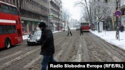 Pamje nga Shkupi...