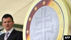 Словацкий крест перекочует с почившей кроны на евромонеты