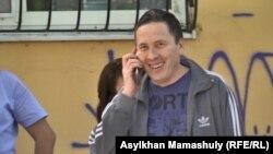 Режиссер Талгад Жаныбеков после приговора. Алматы, 1 июня 2017 года.