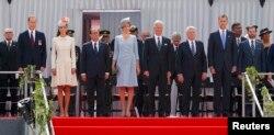 Șefii de state alături de regele Belgiei la ceremoniile centenarului, la Liège