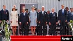 Lideri u Liegeu na obilježavanju stogodišnjice I svjetskog rata