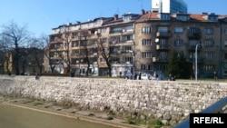Сліди війни на житових будинках у Сараєво