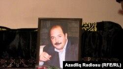Ayaz Mütəllibov oğlunun dəfn mərasimində