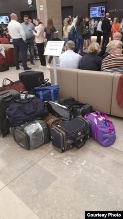 """Участники """"Казачьей станицы"""" в гостинице """"Космос"""""""