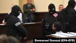 Засідання суду у справі Салеха Абдеслама почалося 5 лютого за посилених заходів безпеки у Брюсселі, Бельгія