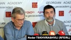 Обращение, под которым сегодня подписались до 30 неправительственных организаций и около десяти известных обществу людей, было составлено под эгидой «Грузинской академии»