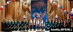 """Омскиның """"Умырзая"""" ансамбле җырлый"""
