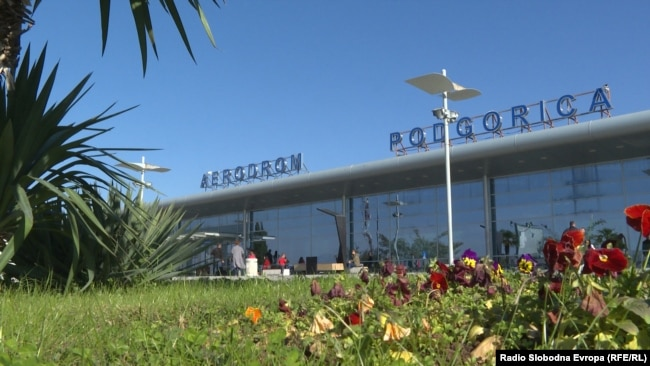 Aerodrom u Podgorici, arhivska fotografija