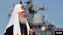 Патріарх Кирило, архівне фото
