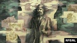 «Язэп Драздовіч». Карціна Рыгора Сітніцы, адзін з экспанатаў выставы
