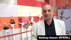 Арт-директор Московского театра кукол, доктор искусствоведения Марк Голдовский. Алматы, 5 сентября 2014 года.
