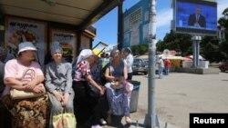 Аннексированный Россией Крым. Севастополь, 15 июня 2017 года