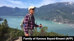 Iranian-Canadian environmentalist Kavous Seyed-Emami (file photo)