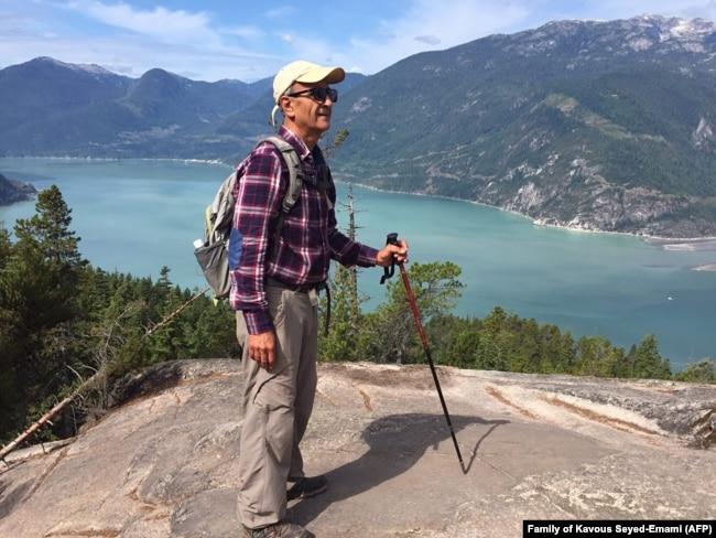 Iransko-kanadski ekolog Kavous Sejed Emami