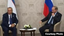 Путин ва Каримов дар Уфа