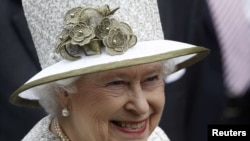 Ұлыбритания патшайымы ІІ Елизавета. Дублин, Ирландия, 17 мамыр 2011 ж.