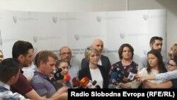 Архивска фотографија- Прес-конференција на обвинителката Ленче Ристоска од СЈО
