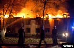 İsmayıllıda yandırılan Çıraq hoteli