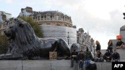 Митинги на Трафальгарской площади в Лондоне – дело привычное