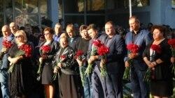 В Керчи почтили память жертв керченской трагедии (видео)