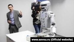 У Севастопольському університеті представили проект робота, що замінить водолаза