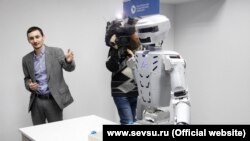 В Севастопольском университете представили проект робота, который заменит водолаза