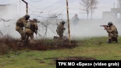 Українські морпіхи готуються до боїв в міських умовах