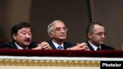 Armenia -- Polad Bulbuloglu (C), Azerbaijan's ambassador to Russia, attends a classical music concert in Yerevan, 24Sept 2010.